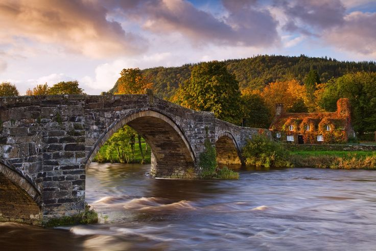 『ヨーロッパの美しい村 30 選』に選ばれた英国・北ウェールズの村 Britain Park - 英国政府観光庁 -