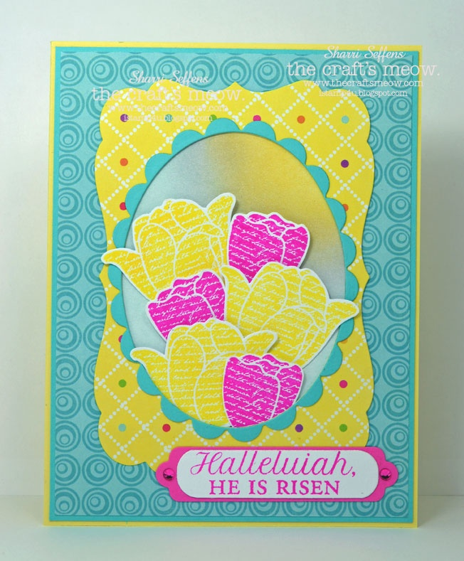 iStamp4u: The Craft's Meow March Blog Hop  also Easter Blessings