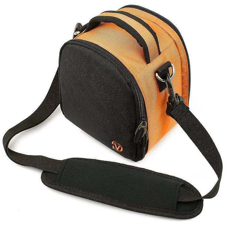 VanGoddy Laurel Carrying Bag for Nikon Coolpix L840 / L830 / L340 / L320 L820 / L610 / L810 / L120 / L110 / L100 Digital SLR Cameras (Orange) >>> Continue to the product at the image link.