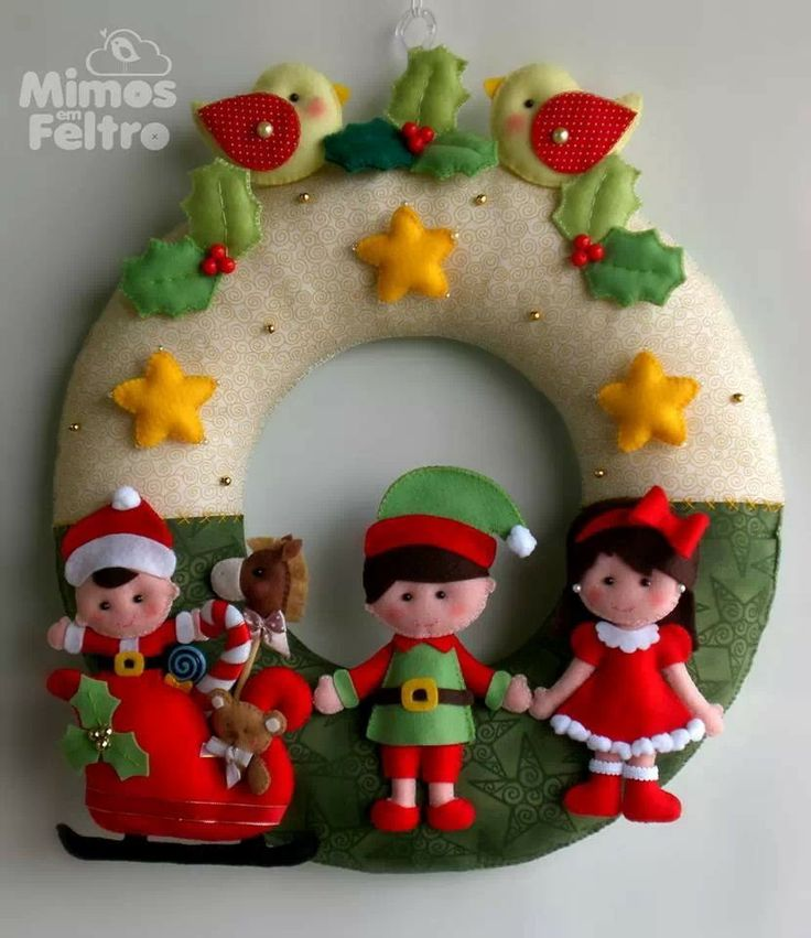 1000  images about christmas felt crafts on pinterest