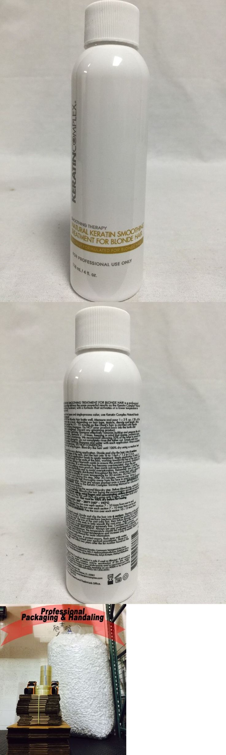 Relaxers and Straightening Prod: Keratin Complex Natural Keratin Smoothing Treatment For Blonde Hair 4 Oz -> BUY IT NOW ONLY: $56.95 on eBay!