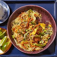 Singapore Noodles - Rachel Ray Recipe