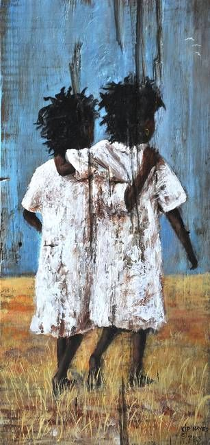 Best Friend's Forever Southern Art New Orleans by Kip Hayes