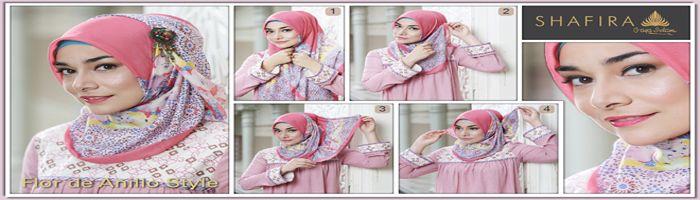 Tutorial Hijab Segi Empat Ala Alyssa Soebandono Gaya Hijab Hijab Artis