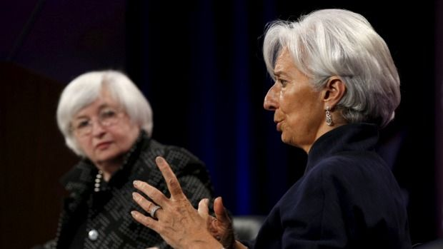 Janet Yellen says stock prices 'quite high' as IMF spies rising risks http://pronewsonline.com 1430951898788