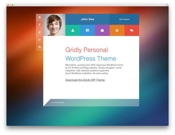 74 best cards images on Pinterest Dashboards, Templates and - wordpress resume themes