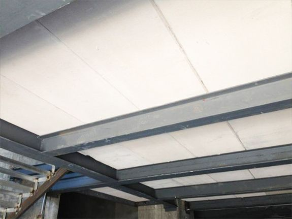 Icf T Beam Pitched Roof With Shoring Concrete Houses Roof Trusses Roof Structure