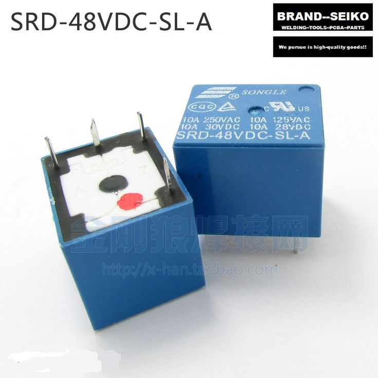 21.99$  Watch now - http://alix4a.shopchina.info/go.php?t=32612938481 - 4PCS/LOT Inverter welding machine repair parts SRD - 48 VDC - SL - A 4 feet normally open relay  #buyonline