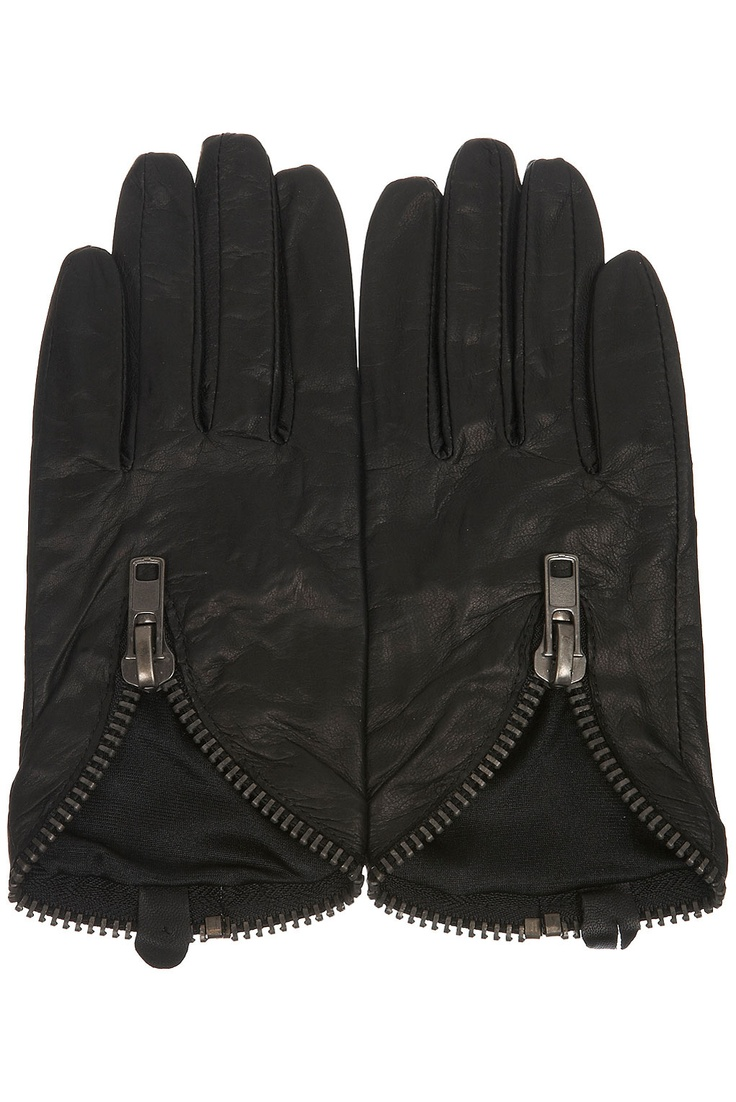 Motorcycle gloves victoria bc - Leather Zip Gloves