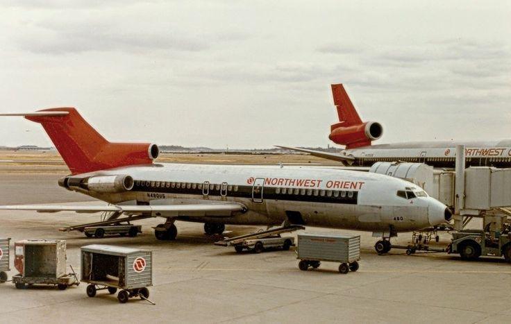 Northwest Orient Airlines (Northwest Airlines) Boeing 727-100