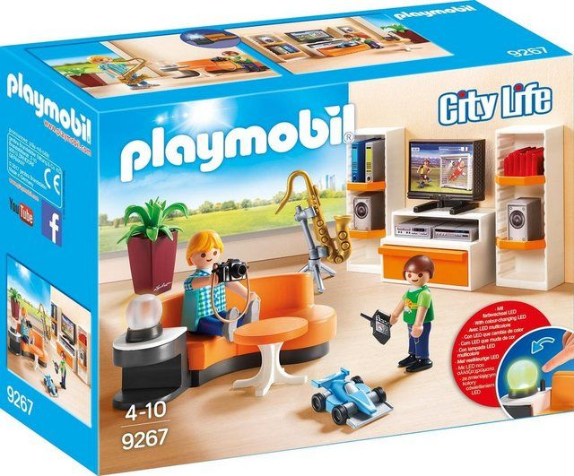 Playmobil Konstruktions Spielset Wohnzimmer 9267 City Life Made In Germany Online Kaufen Otto Playmobil Playmobil Toys Toy Rooms