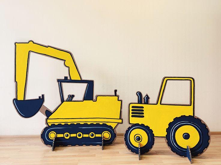 картинки трактора из бумаги это, одной стороны