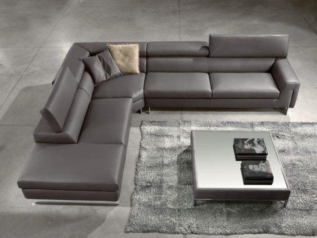 Eckcouch modern leder  Die besten 25+ Leder couchgarnitur Ideen auf Pinterest | Leder ...