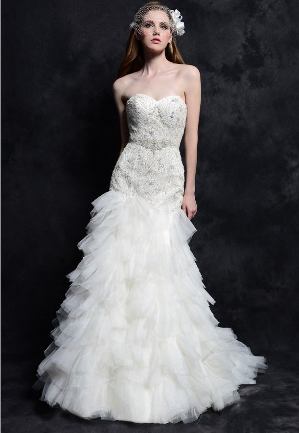 Eden Bridals wedding dress