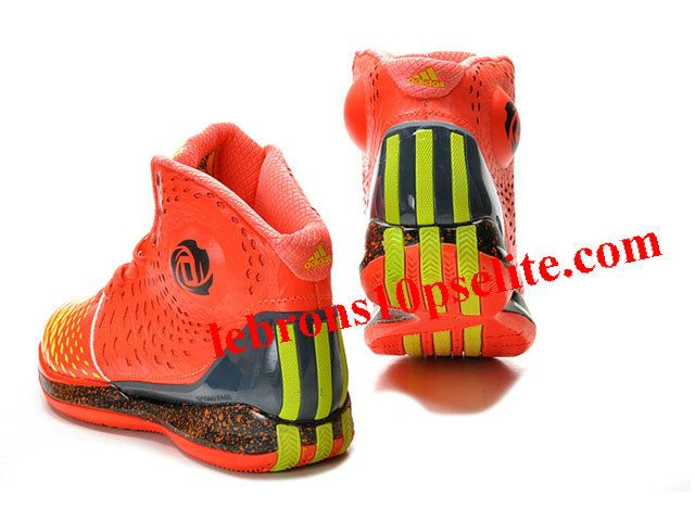 76404fec8d1c ... Adidas AdiZero Rose 3.5 Shoes Orange Yellow ...