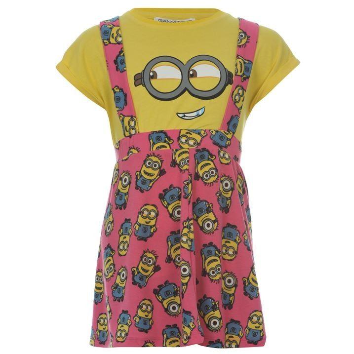 Minion lány ruha szett pólóval - brandcenter webáruház