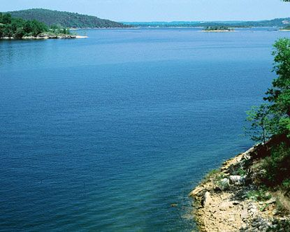 Table Rock Lake on the southern border of Missouri . . . have had many wonderful times there, especially in September when you practically have it to yourself.