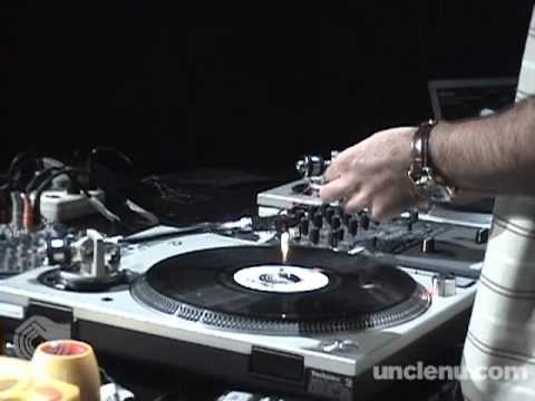 DJ Nu-Mark's live performance set with retro toys. Incredz.