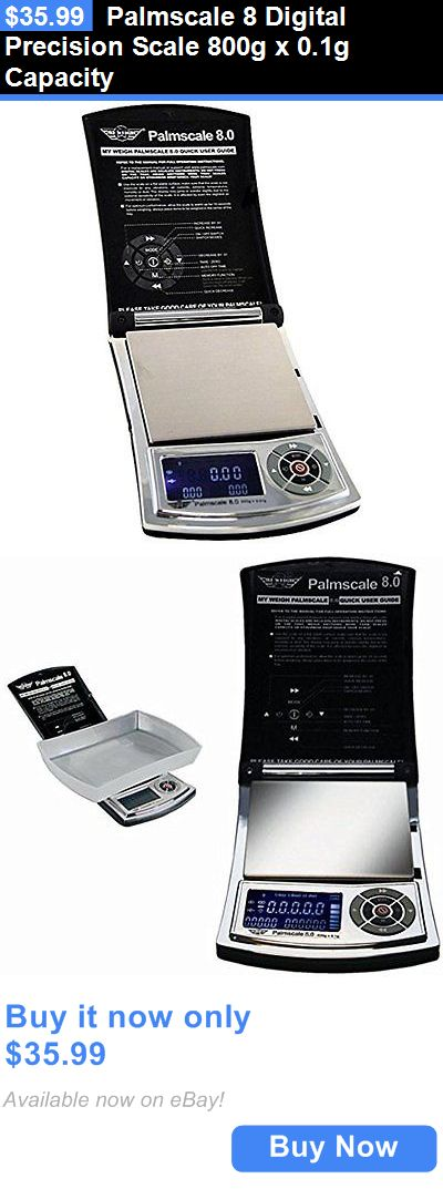 Pocket Digital Scales: Palmscale 8 Digital Precision Scale 800G X 0.1G Capacity BUY IT NOW ONLY: $35.99