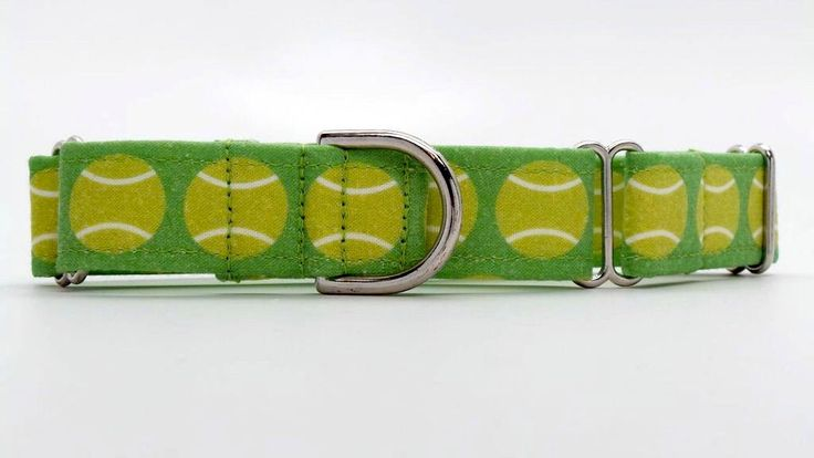 Wimbledon Dog Collar (Martingale, Buckle or Tag) by dogsbythebay on Etsy https://www.etsy.com/listing/157139024/wimbledon-dog-collar-martingale-buckle