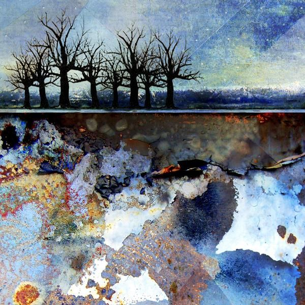 Sanquine Sky Abstract Art Landscape Abstract Landscape Painting Landscape Art