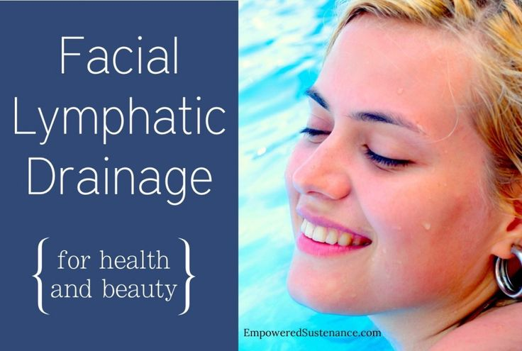 This quick technique for facial lymphatic drainage can slim the face and flush toxins from the body. Do it daily for a month and you will feel results!