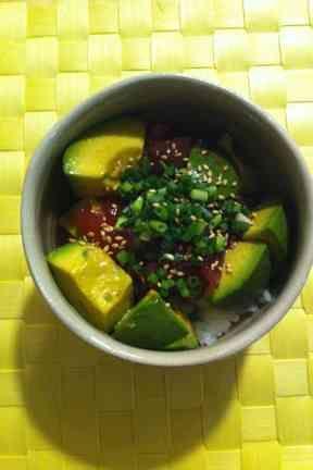 アボカド&マグロ丼★アジア風の画像