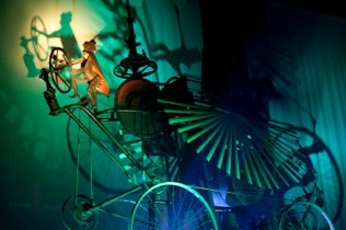 "Sharmanka Kinetic Theatre ""Sharmanka"" (Russian for Barrel-Organ) Sort of a Tim Burton on stage using puppets in a creepy but creative show. Glasgow"