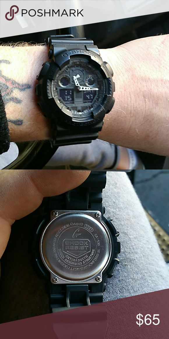 NWOT G-ShOCK WATCH!!!!  Brand fricking new lol Unisex G-SHOCK watch  it's literally brand new, I paid over $120  it's a super nice men's or women's watch. Somebody come buy the darn thing while I still have it, 100% authentic, price is negotiable Casio Accessories