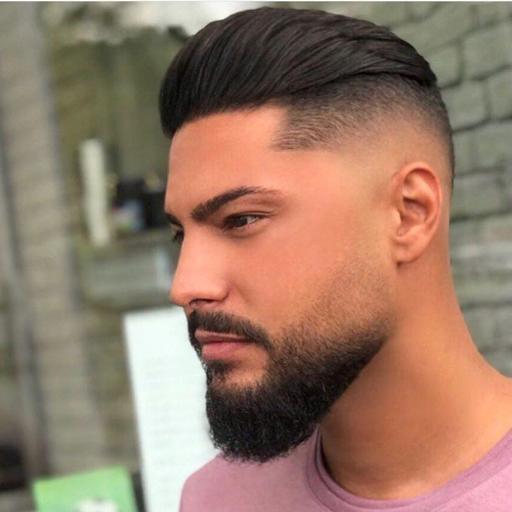 Men S Hairstyles 2019 Mens Facial Hair Styles Faded Beard Styles Beard Styles Short