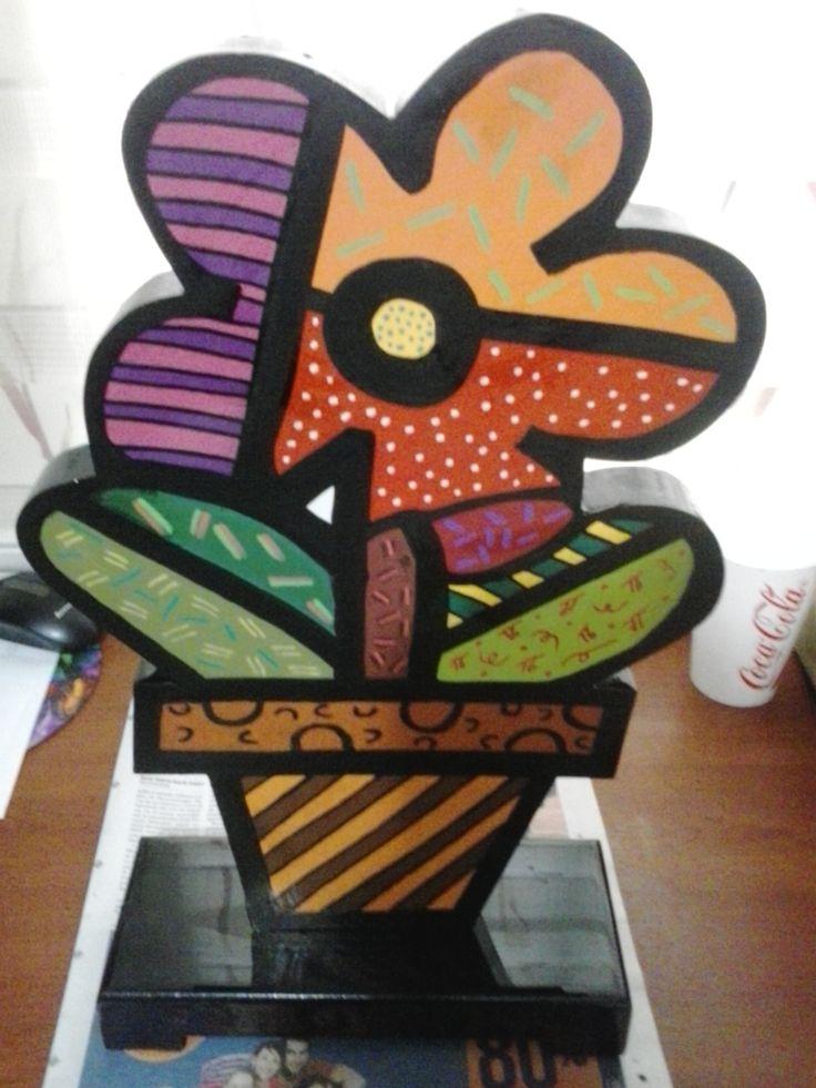 Escultura flor 2