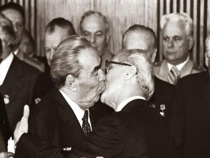 "The Socialist Fraternal Kiss, ""The Kiss"", 1979"