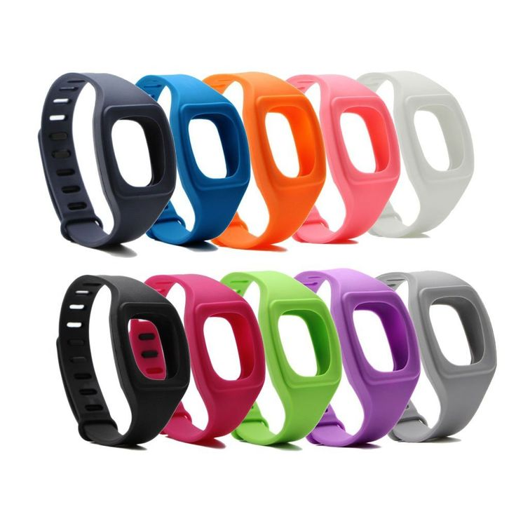 PersuingTech Wireless Fitness Monitor Silicone Accessories Replacement Wristband Bracelet for Fitbit Zip,Set of 10. Package include:10x bands with different colors. Non-fading, durable silicone material, skin friendly and comfortable fit day and night. Watch-band style closure design, the buckle and loop will secure your Fitbit Zip from falling. Free your Fitbit Zip in different style. One size but universal.