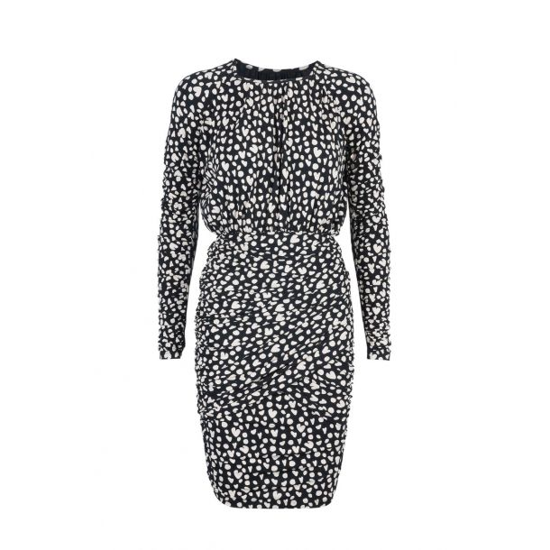 Stine Goya Kjole - Balance Dress, Hearts Black