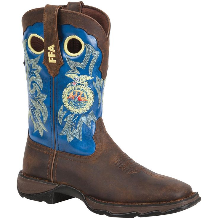 Wow. Check out these amazing FFA boots.     Lady Rebel FFA Boot: Boots for Women Supporting the FFA – Style #RD033 - Durango Boot Company