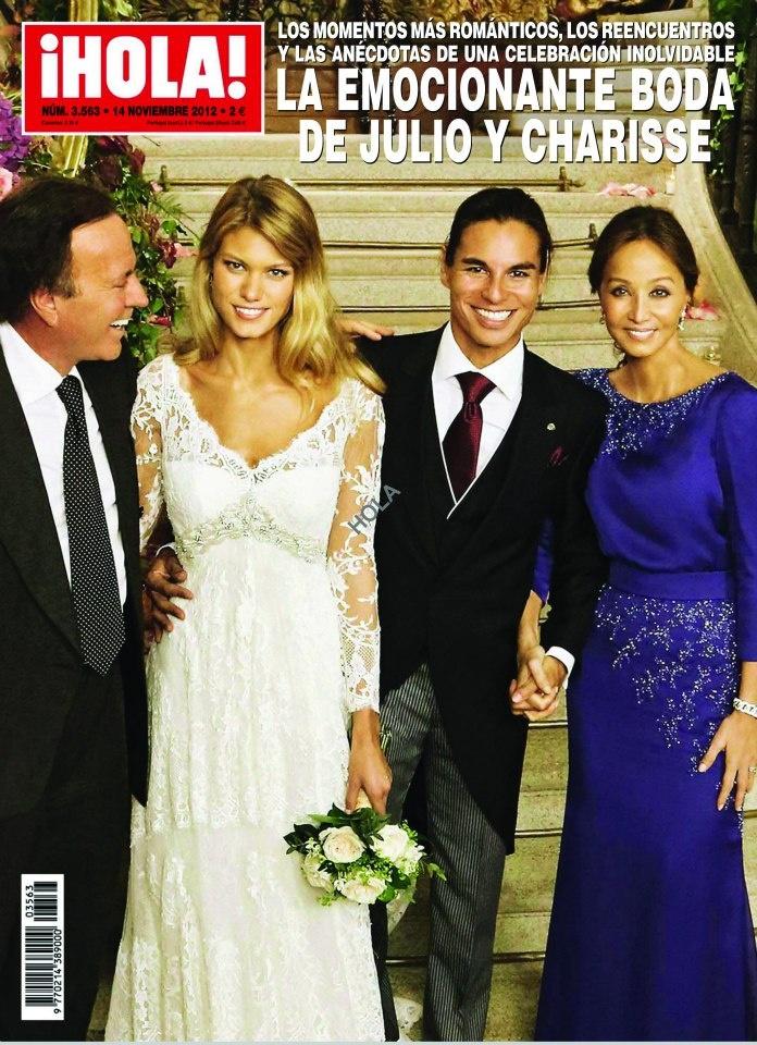 Espectacular familia en la portada de ¡Hola!