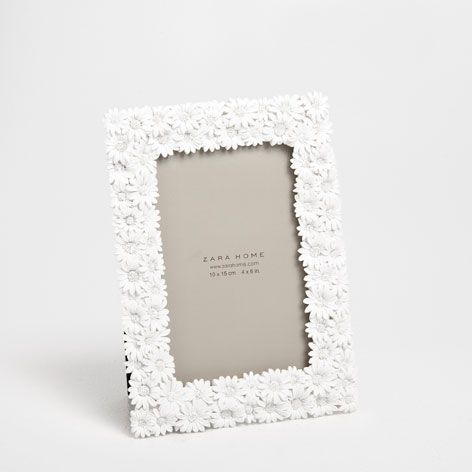 Flowers Resin Picture Frame | ZARA HOME United States of America