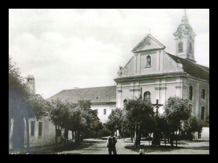 Vác, Ferences templom 1900-s évek elején