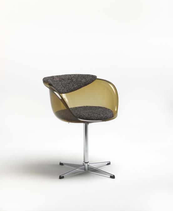 James Farrell; 'Oroglass' Chair for Module Company & Staff Pty Ltd., 1970.