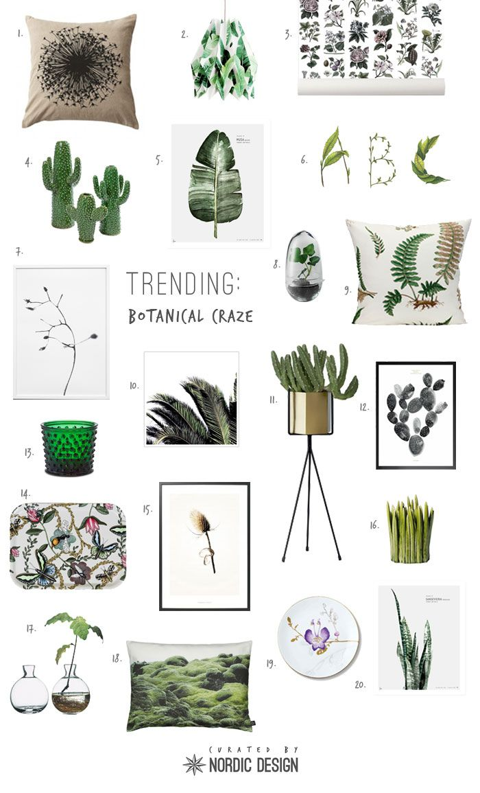 Trending: Botanical Craze - NordicDesign