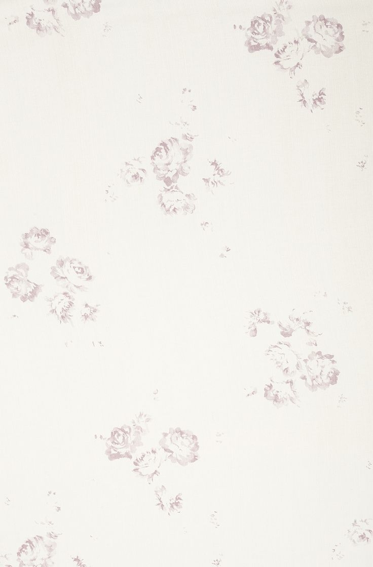 SAMPLE Faded Floral /'Petite Fleur/' on Oyster Linen