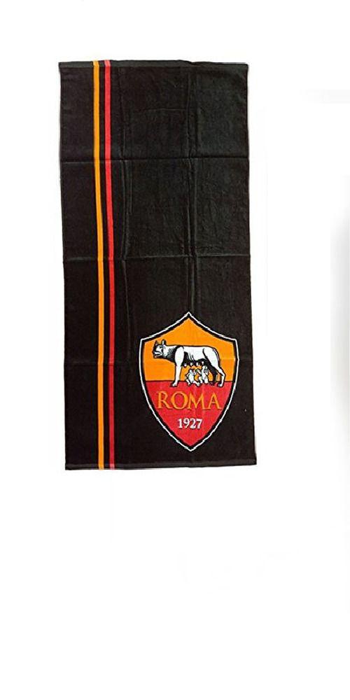 Telo Mare Piscina Asciugamano Ufficiale As Roma In Spugna Cm