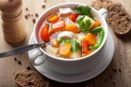 Poctivá polévka jako zdravý, rychlý a dietní oběd