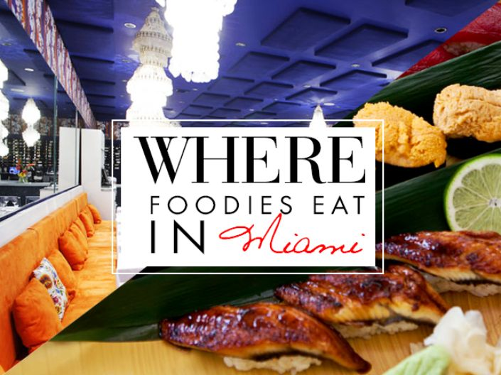 The Best Restaurants in Miami : Where Foodies Eat in Miami | The Vivant #foodies #travel #miami