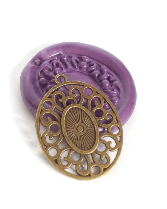 Oval Fancy Frame Victorian Mold / Mould / Soap by ThePaperBazaar, $8.87