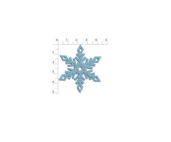 Floco de Neve Estrela 5cm