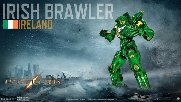 Pacific Rim - Jaeger: Irish Brawler by IzaakGrey.deviantart.com on @DeviantArt