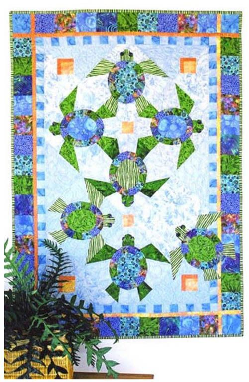 Quilt Patterns With Turtles : 17 Best images about jamie quilt on Pinterest Mariners compass, Turtle quilt and Snails