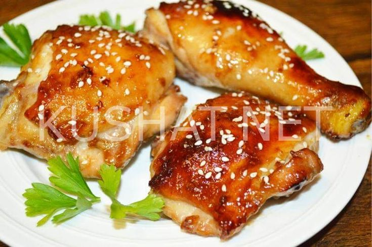Курица терияки. Пошаговый рецепт с фото