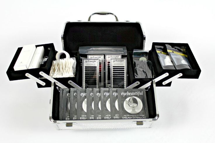 New Professional Premium Eyelash Extension Kit | eBay